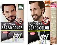 Bigen Men's Beard Color, Brownish Black B102, 40g and Bigen Men's Beard Color, Dark Brown B