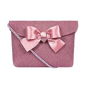 Almbock Trachten-Tasche für Damen - versch. Trachten-Ledertaschen | Herztasche, Spatzl-Tasche, Lederhosen-Tasche, Hirsch-Tasche, Filz-Tasche, Kuhfell-Tasche