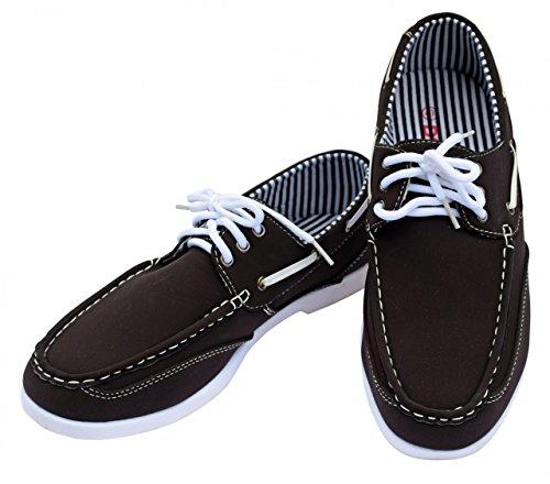 DT NewYork Chaussures Bateau Homme Men's Casual Budget braun