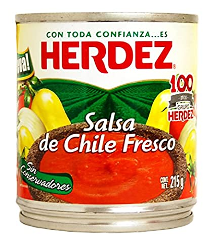Mexgrocer Herdez Salsa de Chile Fresco (Pack of