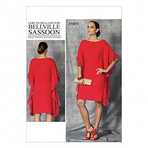 vogue-ladies-sewing-pattern-1473-caftan-style-dress