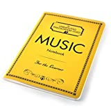 "Music Composer Notebook with Sheet Music Pages - 7"" x 4.75""..."