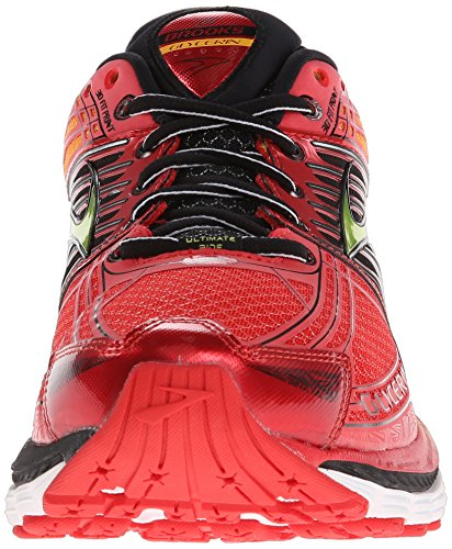 Brooks Glycerin 12, Chaussures de Running Homme Rouge (orange/schwarz/rot 683)