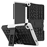 KATUMO Custodia Cover Compatibile con Lenovo TB3-730X 7 Pollici, Rugged Heavy Duty Hard Back Custodia con Kickstand per Lenovo Tab 3 7 Tablet (TB3-730F/TB3-730X/TB3-730M)