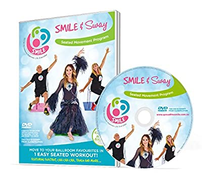 Smile & Sway - Workout By Dancing in Your Chair - Low Impact Exercise in Disguise DVD (PAL) - low-cost UK light shop.