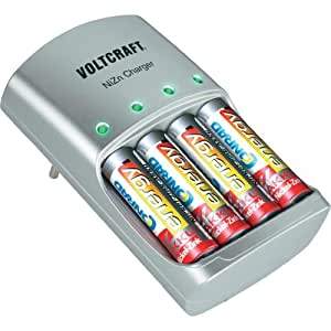 Voltcraft Aa Aaa Nizn Battery Charger Amazon Co Uk