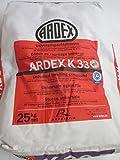 ARDEX K33 Universalspachtelmasse 25kg Boden innen, mit ARDURAPID-Effekt. Sehr emissionsarm. Auf Zement-Basis.
