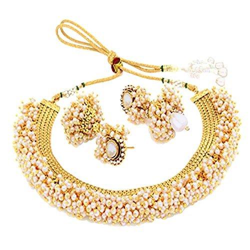 Sukkhi Choker Necklace for Women (Golden) (N71437GLDPAP3050)