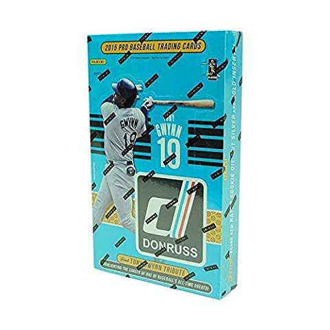 2015 Panini Donruss Baseball Hobby Box (Donruss Mlb Baseball-trading Cards)