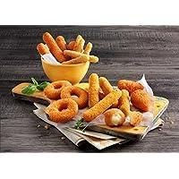 Fingerfood Cheesy-Peasy-Kiste 2kg tiefgekühlte Snack Box