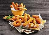 Fingerfood Cheesy-Peasy-Kiste 2kg tiefgekühlte Snack Box -