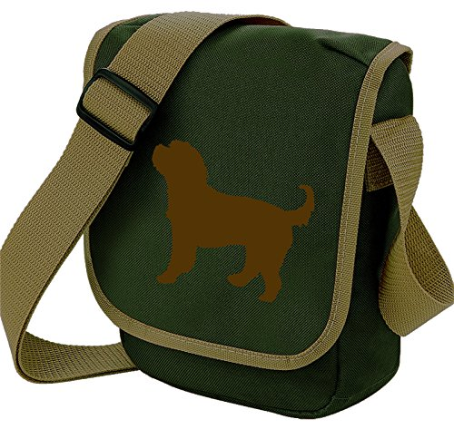 Bag Pixie, Borsa a spalla donna Brown Dog Olive Bag