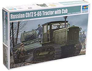 Trumpeter 5539  Russian ChTZ S-65 Tractor with Cab 1:35