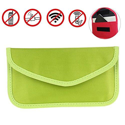Motorola Droid Auto (AOLVO strahlenabweisend RF-Signal blockieren Tasche Abschirmung Tasche Wallet Schutzhülle für iPhone, Samsung- und Handy andere Sichtschutz und Auto Schlüsselanhänger)