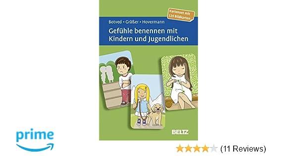Gefühle benennen mit Kindern und Jugendlichen: Kartenset mit 120 ...