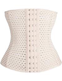 zrong Mujeres Body Shaper–Cintura Entrenador Cincher Transpirable corsé Shapewear