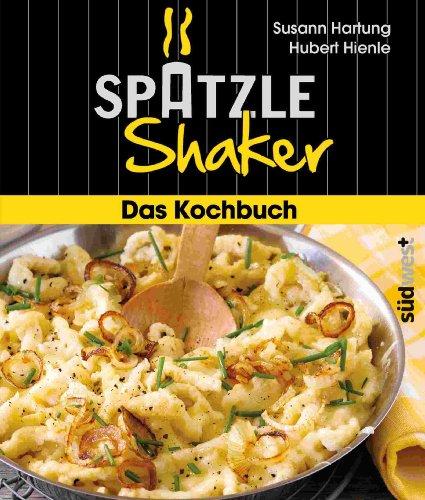 """""""Schwäbisches Starter-Kit"""": Originaler Spätzle-Shaker in rot + Kochbuch - 3"""