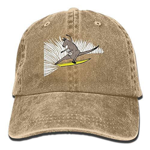 Nifdhkw 2018 Adult Fashion Cotton Denim Baseball Cap Surfing Kangaroo Classic Dad Hat Adjustable Plain Cap Unisex32