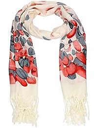 Erica Tulip Print Summer Tassle Pashmina Womens Warm Winter Scarf 70*170 SWANKYSWANS