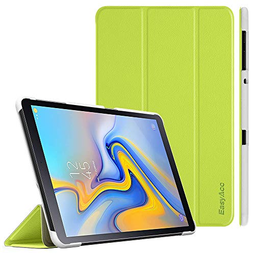 EasyAcc Hülle für Samsung Galaxy Tab A 10.5 2018 - Ultra Dünn mit Standfunktion Auto Sleep/Wake Up Funktion Slim PU Leder Schutzhülle Perfekt Passt für Samsung SM-T590/T595 Tab A 10.5 Zoll, Grün