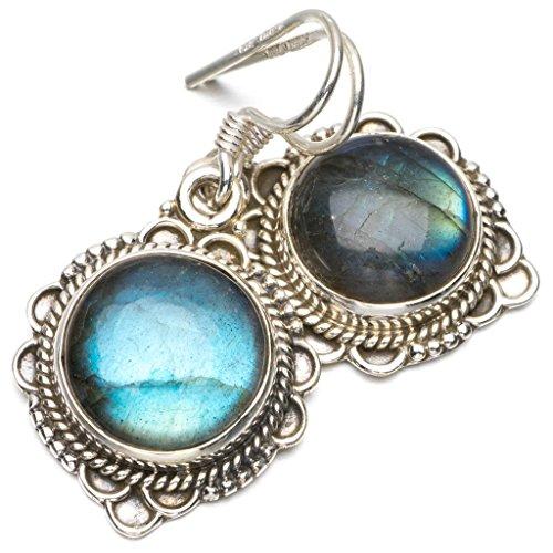 stargems-tm-natural-top-quality-blue-fire-labradorite-unico-stile-punk-orecchini-in-argento-sterling