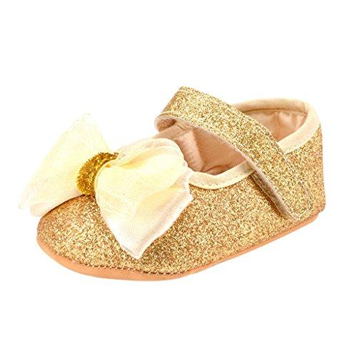 Générique Chaussures Premiers Pas Bébé Mode Enfants Filles Paillette Douces Seules Glitter Ressort