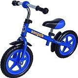 Lifefit Kinder Fahrrad Laufrad BAMBINO, Blau, 12 Zoll, ODRAZ-BAMBI-1