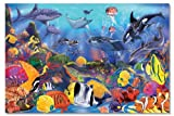 Melissa & Doug Underwater Floor 48 Pc Jigsaw Puzzle