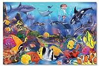 Melissa & Doug Underwater Floor 48 Pc Jigsaw Puzzle