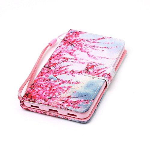 PU Silikon Schutzhülle Handyhülle Painted pc case cover hülle Handy-Fall-Haut Shell Abdeckungen für Honor 5C (+Staubstecker) (3OO) 2