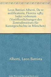Alberti-Index. De Re Aedificatoria, Florenz 1485, Index Verborum