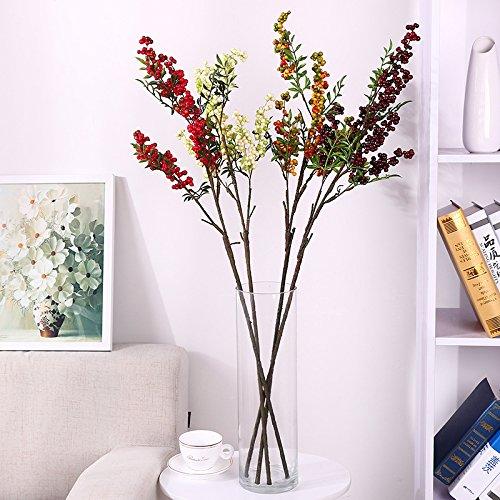 Huayifang i sostegni di nozze di bacche di natale creativo di emulazione pavimento coperto di fiori swing in fiori matrimonio puntelli bianco verde
