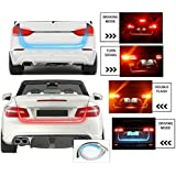 XEZON WATERPROOF FLOW LED STRIP TRUNK / DICKY / BOOT / Tail Lights Streamer Brake Turn Signal LIGHT for New Swift DZIRE