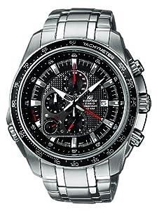Reloj de caballero CASIO EF-545D-1AVEF Edifice de cuarzo, correa de acero inoxidable color plata de Casio