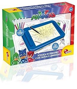 Escuela de Dibujo con Pizarra Luminosa Lisciani Giochi 63017, PJ Mask