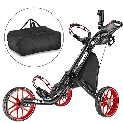 Caddytek facile pliage chariot de golf 3 roues-et avec le...
