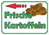 Verkaufsschild Kartoffeln links A2 (420x594mm)