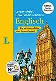 Langenscheidt Universal-Sprachführer Englisch - Buch inklusive E-Book zum Thema 'Essen & Trinken': Die wichtigsten Sätze plus Reisewörterbuch