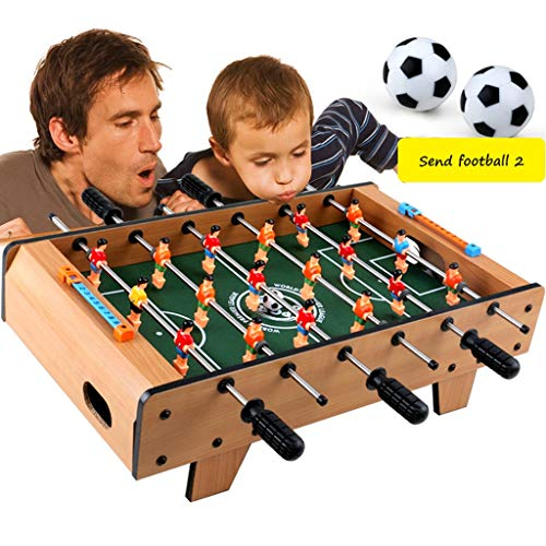 Table Football Toys 3-10 Year Old Educational Toys Boy Wooden Soccer Machine Double Competitive Toy Table Parent-child Interactive Toy Table Best Gift For Children Toys & Games