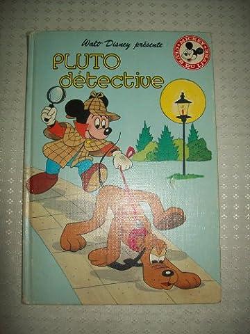 Livre Disney Club Du Livre - Pluto détective (Mickey club du