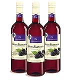 Katlenburger Brombeerwein Fruchtwein Süß ( 3 x 0.75 l )
