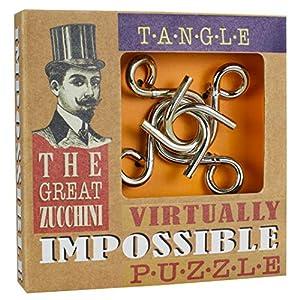 Cheatwell Games 03832 Zucchini Impossible Puzzles-Tangle Juego de construcción