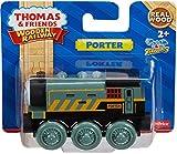 Mattel BDF98 – Fisher-Price Thomas und seine Freunde Porter, Holz Lokomotive, klein - 5