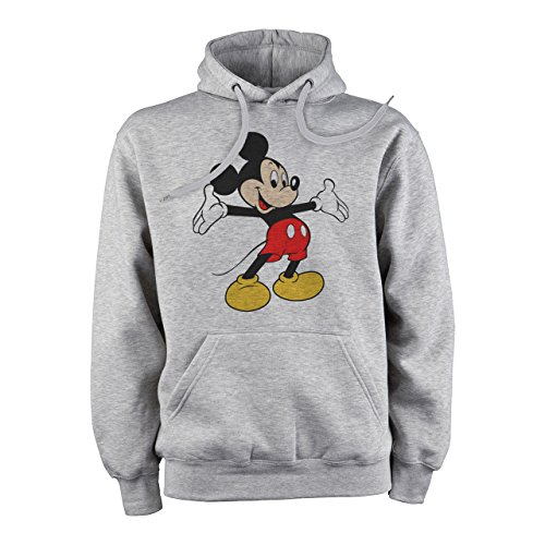 Mickey Mouse Disney Dope Icon Swag Colour Smiling Whant A Hug XL Herren Hoodie (Mickey Mouse Hoodie)