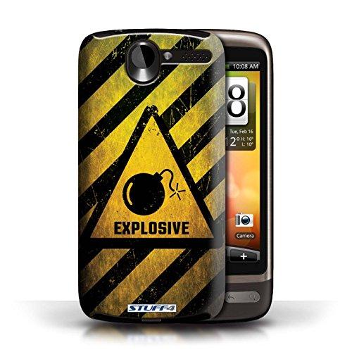 Coque de Stuff4 / Coque pour HTC Desire G7 / Explosif Design / Signes de Danger Collection Explosif