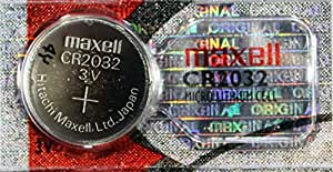 Maxell Lot de 10 piles boutons CR2032 2032