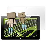 atFolix Bildschirmfolie kompatibel mit Xoro Pad 10W6 Spiegelfolie, Spiegeleffekt FX Schutzfolie