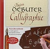 Bien débuter en calligraphie - Nouvelle méthode. 11 cartes gravées pour guider la main et trouver le bon geste. La plume de calligraphie + le porte-plume offerts !