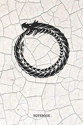 Notebook: Cool Snake Ring Spirit Animal Totem Planner / Organizer / Lined Notebook (6