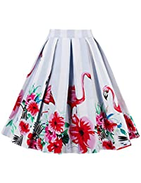it rosa Donna Abbigliamento Amazon Gonne Fenicottero pqAqTP